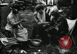 Image of group camping Maryland United States USA, 1921, second 51 stock footage video 65675032002