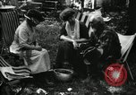 Image of group camping Maryland United States USA, 1921, second 52 stock footage video 65675032002