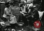 Image of group camping Maryland United States USA, 1921, second 53 stock footage video 65675032002