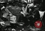 Image of group camping Maryland United States USA, 1921, second 55 stock footage video 65675032002