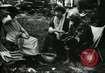 Image of group camping Maryland United States USA, 1921, second 56 stock footage video 65675032002
