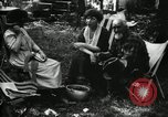 Image of group camping Maryland United States USA, 1921, second 58 stock footage video 65675032002