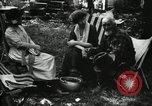 Image of group camping Maryland United States USA, 1921, second 59 stock footage video 65675032002