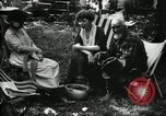 Image of group camping Maryland United States USA, 1921, second 60 stock footage video 65675032002