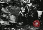 Image of group camping Maryland United States USA, 1921, second 62 stock footage video 65675032002