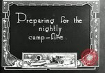 Image of group camping Maryland United States USA, 1921, second 2 stock footage video 65675032005