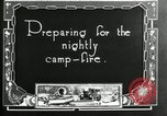 Image of group camping Maryland United States USA, 1921, second 5 stock footage video 65675032005