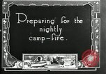 Image of group camping Maryland United States USA, 1921, second 6 stock footage video 65675032005