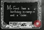 Image of group camping Maryland United States USA, 1921, second 1 stock footage video 65675032006