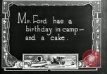 Image of group camping Maryland United States USA, 1921, second 8 stock footage video 65675032006