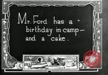 Image of group camping Maryland United States USA, 1921, second 9 stock footage video 65675032006