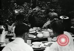 Image of group camping Maryland United States USA, 1921, second 21 stock footage video 65675032006