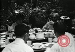 Image of group camping Maryland United States USA, 1921, second 22 stock footage video 65675032006