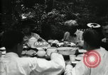 Image of group camping Maryland United States USA, 1921, second 27 stock footage video 65675032006