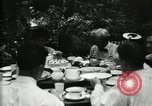 Image of group camping Maryland United States USA, 1921, second 28 stock footage video 65675032006