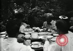 Image of group camping Maryland United States USA, 1921, second 29 stock footage video 65675032006