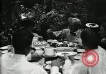 Image of group camping Maryland United States USA, 1921, second 30 stock footage video 65675032006