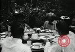 Image of group camping Maryland United States USA, 1921, second 32 stock footage video 65675032006