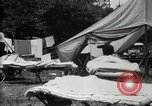 Image of group camping Maryland United States USA, 1921, second 8 stock footage video 65675032008