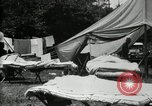 Image of group camping Maryland United States USA, 1921, second 9 stock footage video 65675032008