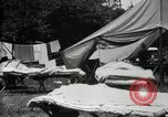 Image of group camping Maryland United States USA, 1921, second 10 stock footage video 65675032008