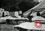 Image of group camping Maryland United States USA, 1921, second 13 stock footage video 65675032008