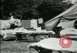 Image of group camping Maryland United States USA, 1921, second 14 stock footage video 65675032008