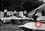 Image of group camping Maryland United States USA, 1921, second 15 stock footage video 65675032008
