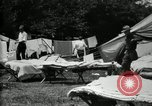 Image of group camping Maryland United States USA, 1921, second 16 stock footage video 65675032008