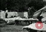 Image of group camping Maryland United States USA, 1921, second 17 stock footage video 65675032008
