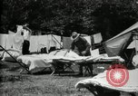 Image of group camping Maryland United States USA, 1921, second 18 stock footage video 65675032008