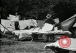 Image of group camping Maryland United States USA, 1921, second 19 stock footage video 65675032008