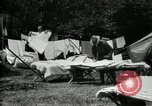 Image of group camping Maryland United States USA, 1921, second 20 stock footage video 65675032008