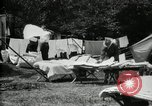 Image of group camping Maryland United States USA, 1921, second 21 stock footage video 65675032008