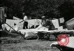 Image of group camping Maryland United States USA, 1921, second 22 stock footage video 65675032008