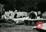 Image of group camping Maryland United States USA, 1921, second 23 stock footage video 65675032008