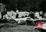Image of group camping Maryland United States USA, 1921, second 24 stock footage video 65675032008