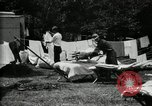 Image of group camping Maryland United States USA, 1921, second 26 stock footage video 65675032008
