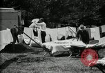 Image of group camping Maryland United States USA, 1921, second 27 stock footage video 65675032008