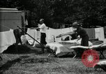 Image of group camping Maryland United States USA, 1921, second 28 stock footage video 65675032008
