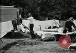 Image of group camping Maryland United States USA, 1921, second 29 stock footage video 65675032008