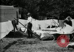 Image of group camping Maryland United States USA, 1921, second 30 stock footage video 65675032008