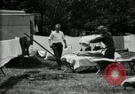 Image of group camping Maryland United States USA, 1921, second 31 stock footage video 65675032008