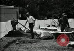 Image of group camping Maryland United States USA, 1921, second 32 stock footage video 65675032008