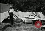 Image of group camping Maryland United States USA, 1921, second 34 stock footage video 65675032008