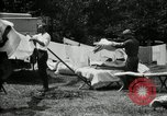 Image of group camping Maryland United States USA, 1921, second 35 stock footage video 65675032008