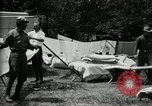 Image of group camping Maryland United States USA, 1921, second 36 stock footage video 65675032008