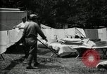 Image of group camping Maryland United States USA, 1921, second 37 stock footage video 65675032008
