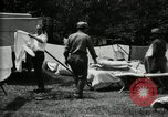 Image of group camping Maryland United States USA, 1921, second 38 stock footage video 65675032008