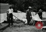 Image of group camping Maryland United States USA, 1921, second 40 stock footage video 65675032008